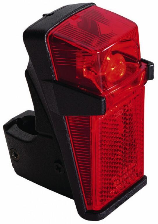 Busch + Müller B&M Rücklicht schwarz/rot Fahrraddynamo~Dynamo~Fahrradbeleuchtung~Fahrradlicht~Fahrrad Beleuchtung~Dynamo Beleuchtung