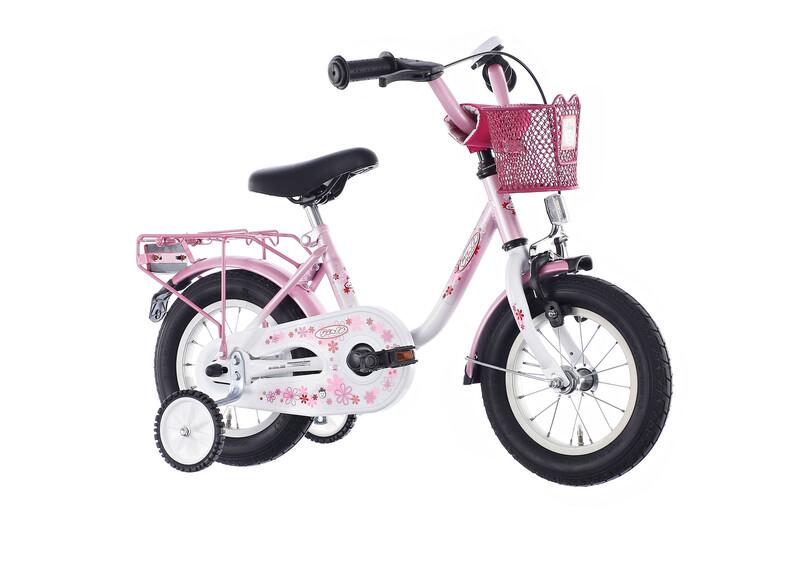 Girly 12 Zoll pink Kinderfahrräder