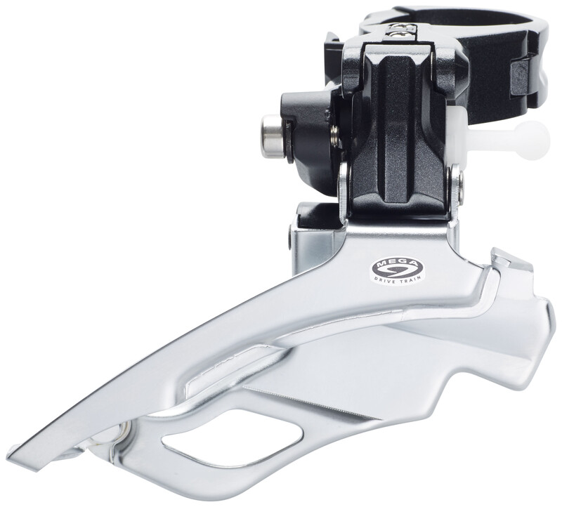 Deore FD-M591 Umwerfer 3x9-fach Down Swing silber/schwar MTB Umwerfer