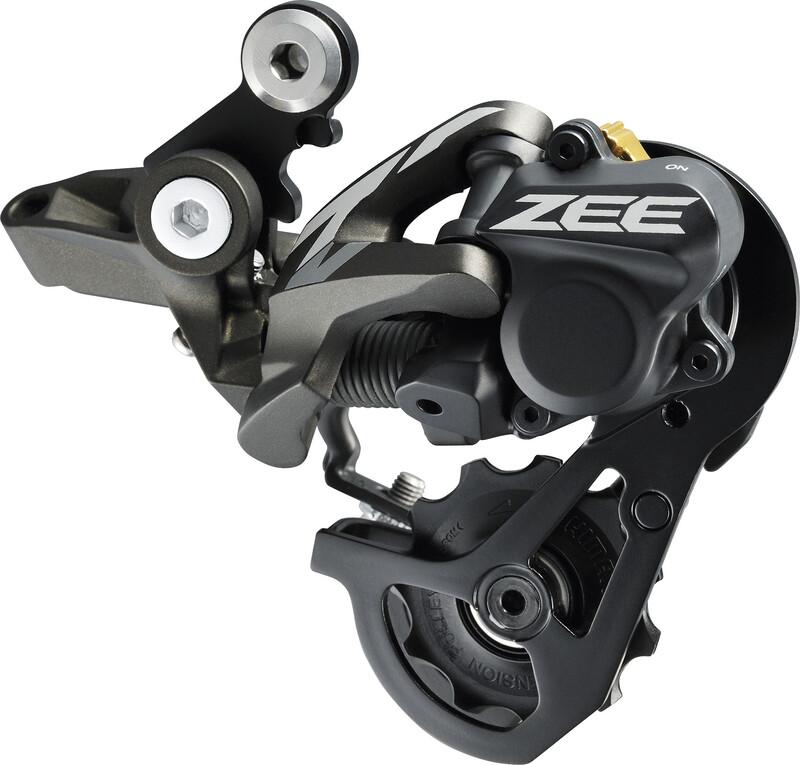 ZEE RD-M640 Schaltwerk 10-fach Shadow plus schwarz MTB Schaltwerke