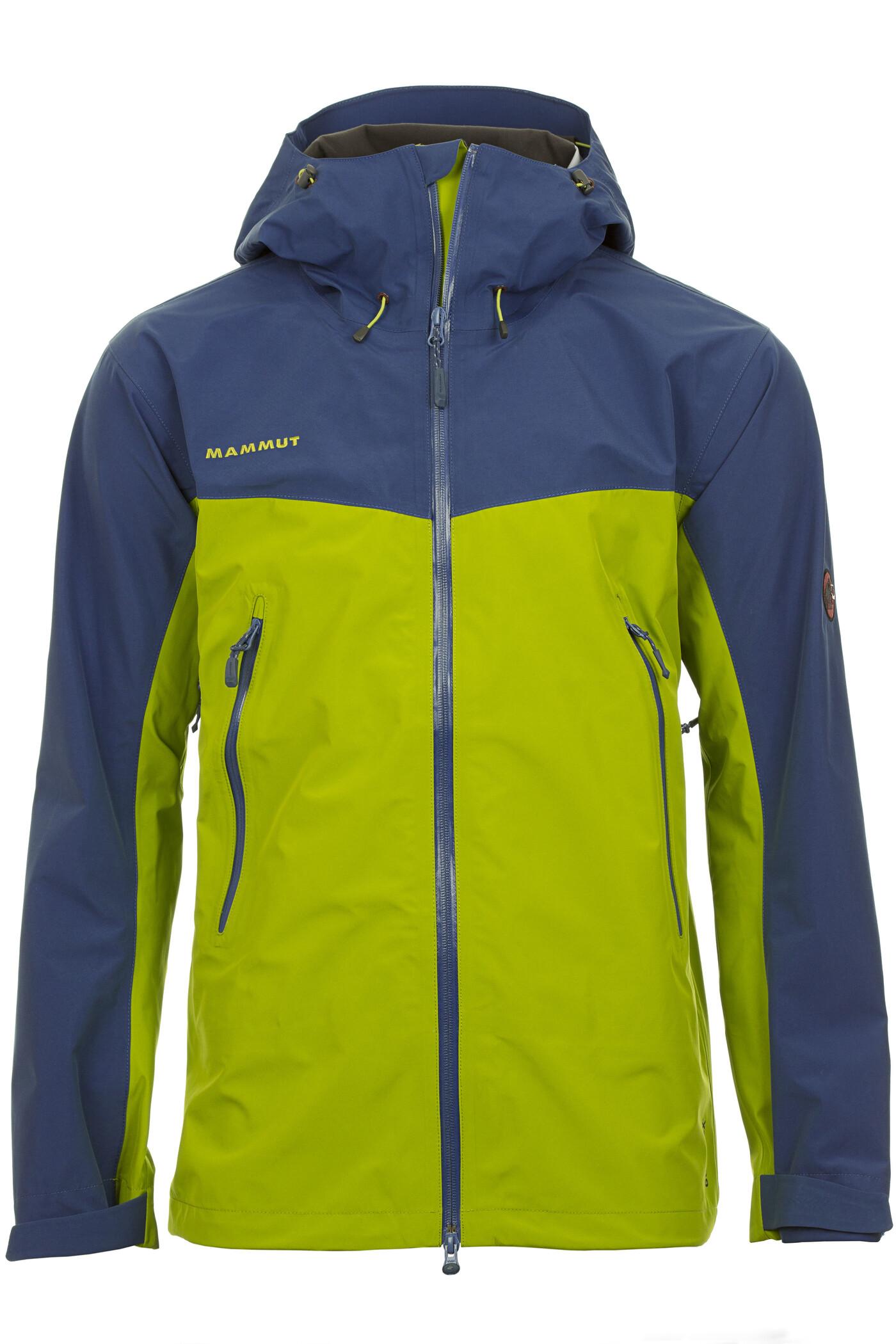 Mammut Crater Jacket Men peridot-ensign XL jacke~oberteil~Bekleidung~Outdoor~outdoorjacke~outdoorbekleidung~hardshelljacke~hardshell jacke