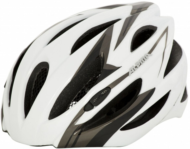 Cybric Helm white-black 58-63 cm Fahrradhelme