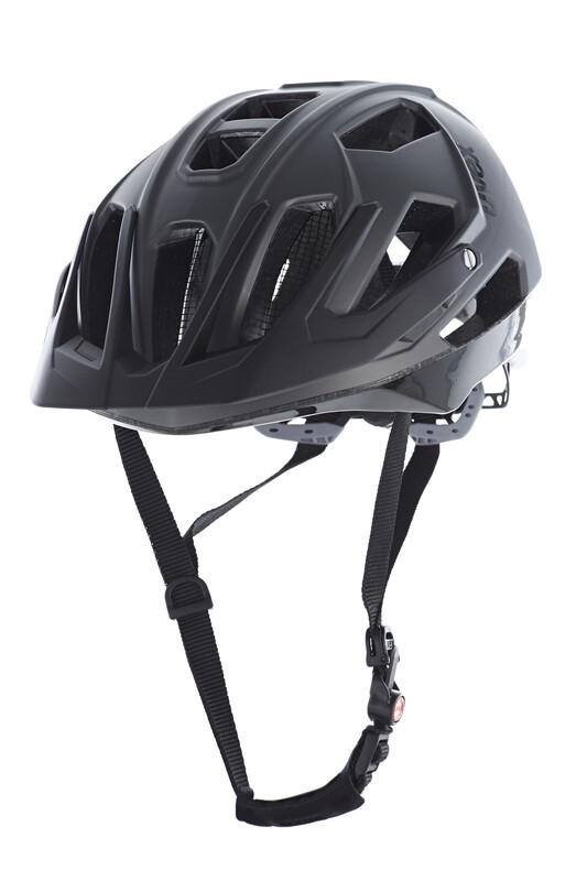 quatro Helm darksilver mat/black 53-57 cm Mountainbike Helme
