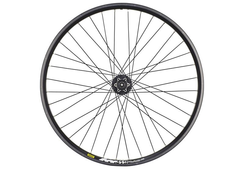 H-Rad 26 x 1.90 Shimano Deore 8/9-fach schwarz MTB Hinterräder