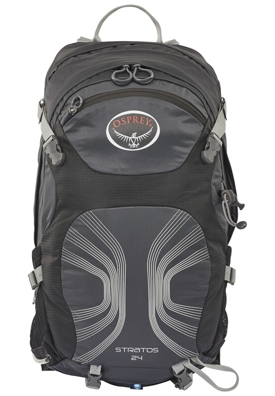 Stratos 24 Backpack Men Anthracite Black Daypacks