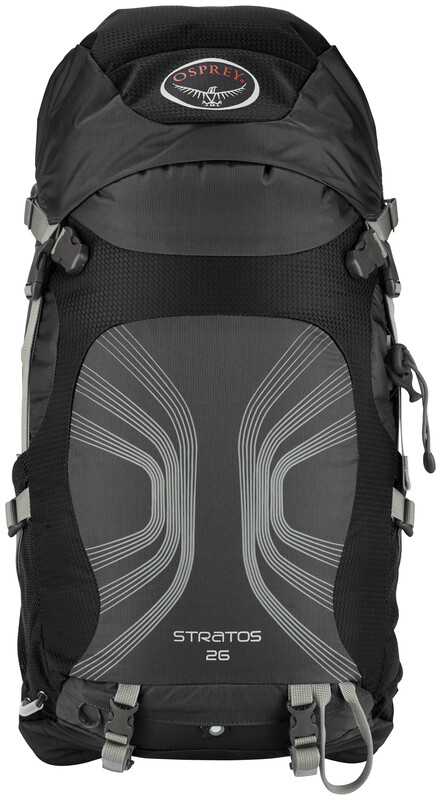 Stratos 26 Backpack Men Anthracite Black Daypacks