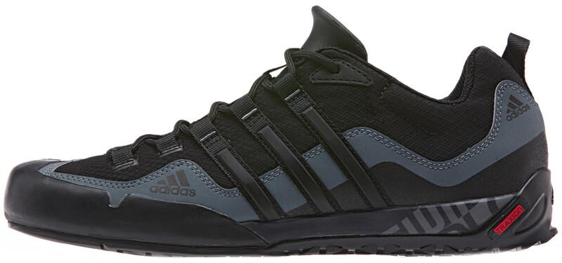 Terrex Swift Solo Shoes Men core black/core black/lead 46 Trekkingschuhe