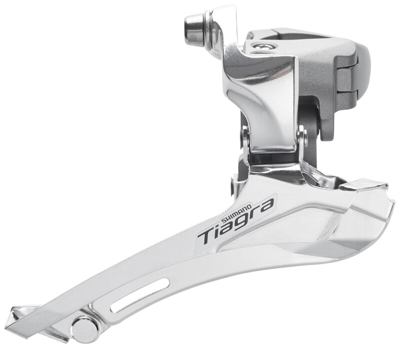 Tiagra FD-4600 Umwerfer 2x10-fach silber MTB Umwerfer