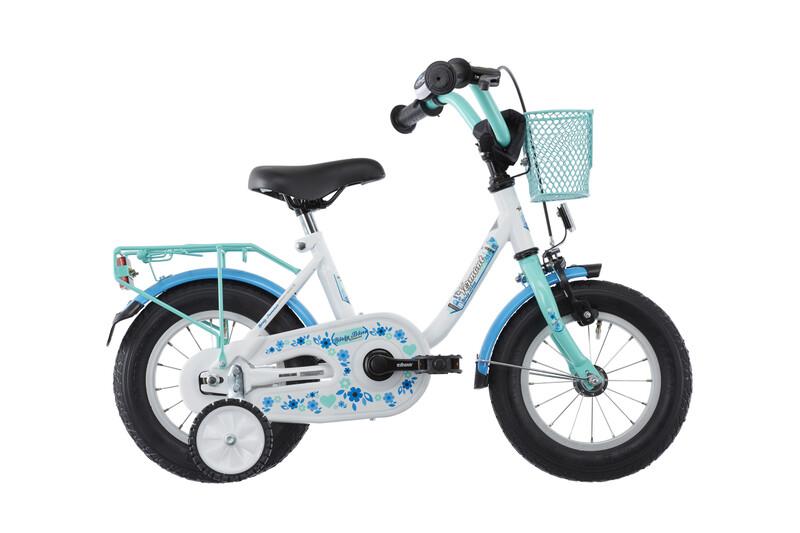 """Girly 12"""" blau Kinderfahrräder"""