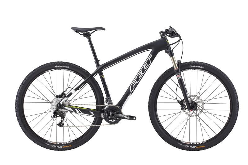 2. Wahl: Felt Nine 4 matte black (white/chartreuse) 2. Wahl Fahrräder