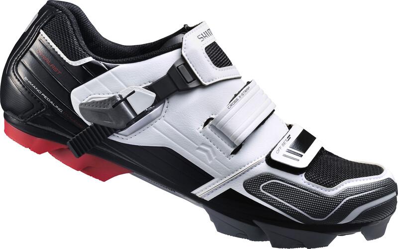 SH-XC51W Schuhe Unisex weiß/schwarz 48 Bike Schuhe