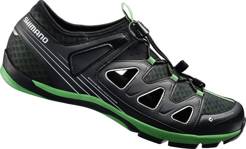 SH-CT46LG Schuhe Unisex schwarz 45 Fahrradschuhe