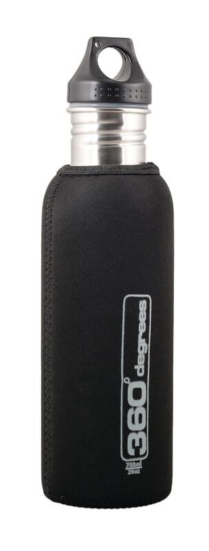 Stainless Drink Bottle Neoprene Pouch 750ml black Zubehör Campingküche