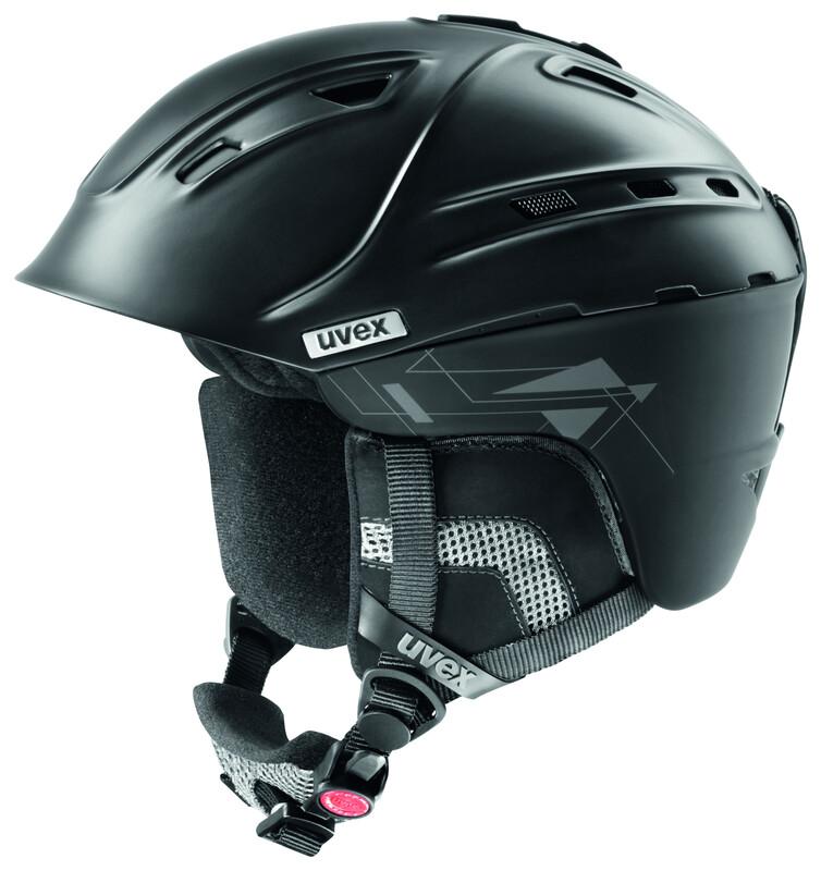 p2us Helmet black mat Ski- & Snowboardhelme