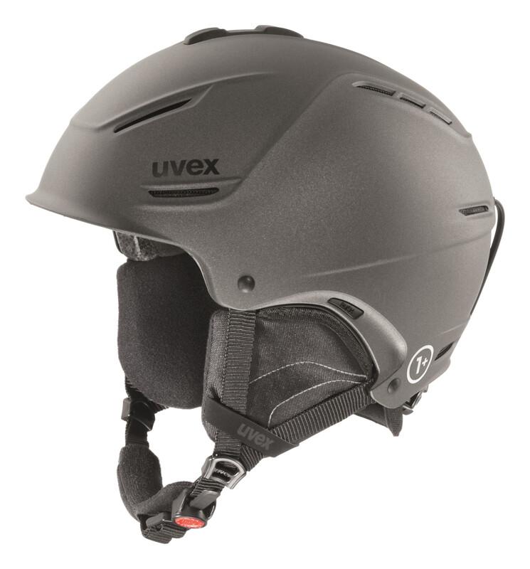 p1us Helmet gun met mat Ski- & Snowboardhelme
