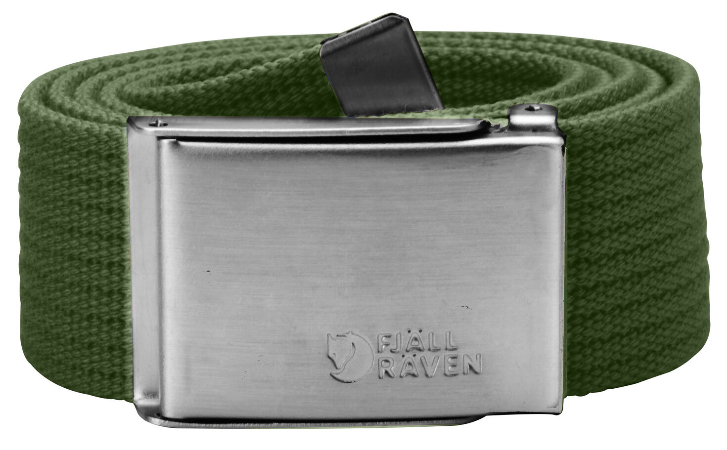 Fjällräven Canvas Belt pine green One Size Accessoires~outdoor~bekleidung~outdoorbekleidung~Outdoor gürtel