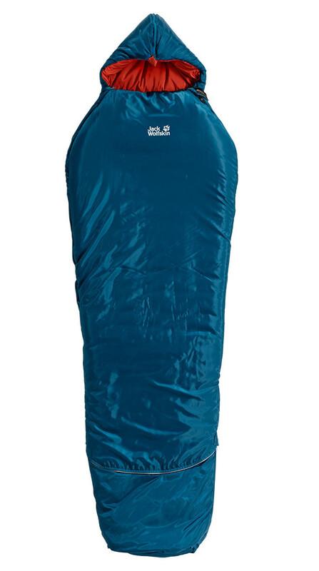 Grow Up Comfort Sleeping Bag moroccan blue Schlafsäcke