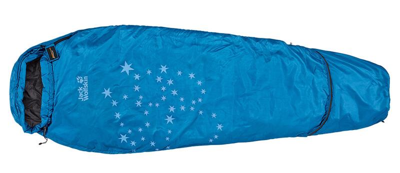 Grow Up Star Sleeping Bag electric blue Schlafsäcke