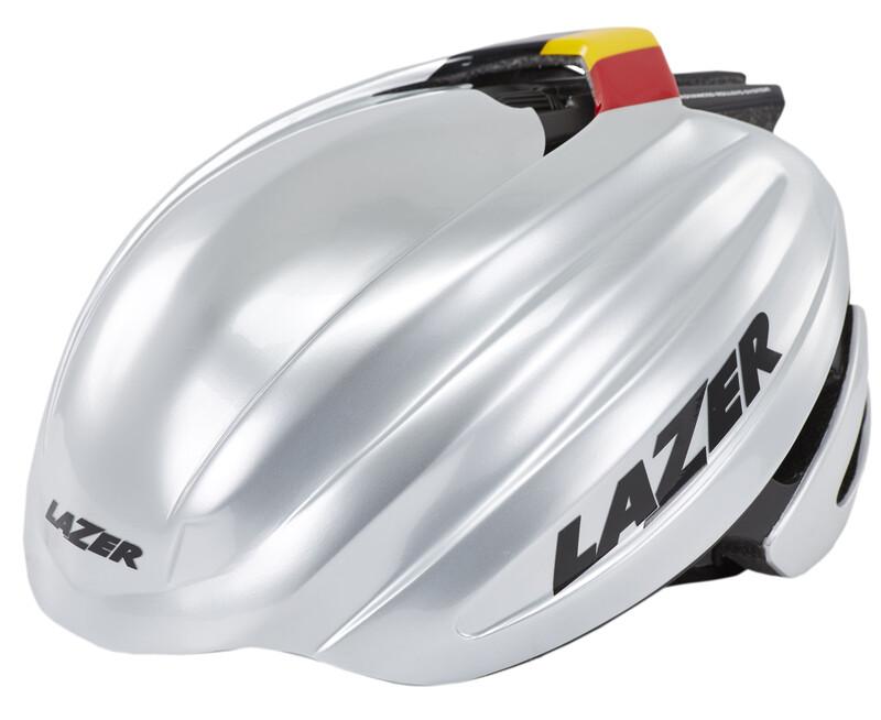 Z1 Fast Helm silber/schwarz 55-59 cm Fahrradhelme