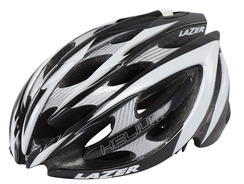 Helium Helm MIPS schwarz/weiß 61-64 cm Fahrradhelme