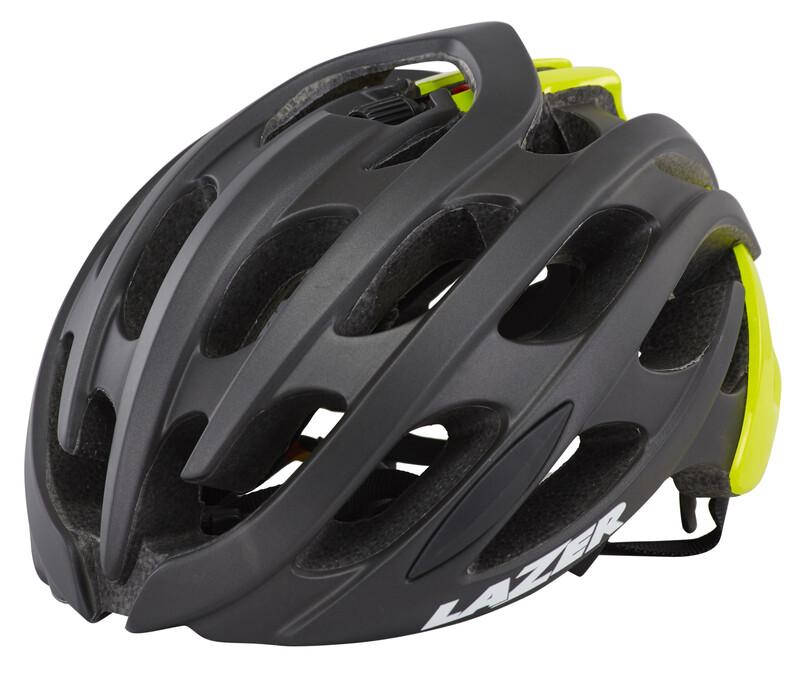 Blade Helm schwarz matt/flash gelb 58-61 cm Fahrradhelme