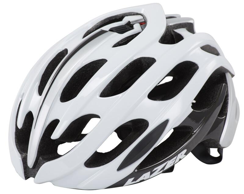 Blade Helm weiß/silber 55-59 cm Fahrradhelme