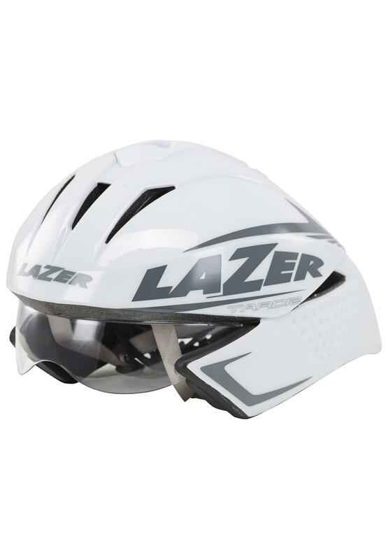 Tardiz Helm weiß 58-61 cm Fahrradhelme