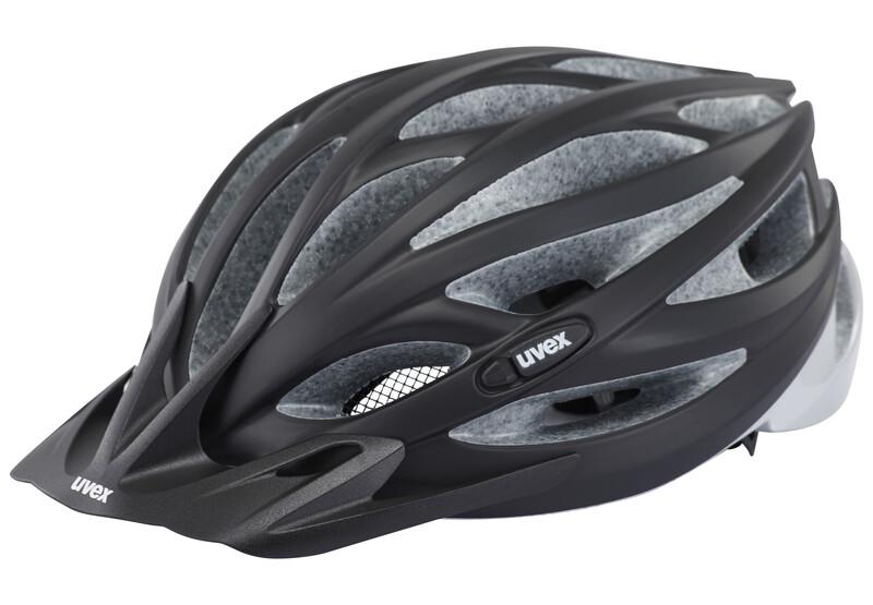 oversize Helm black mat-silver 61-65 cm Mountainbike Helme