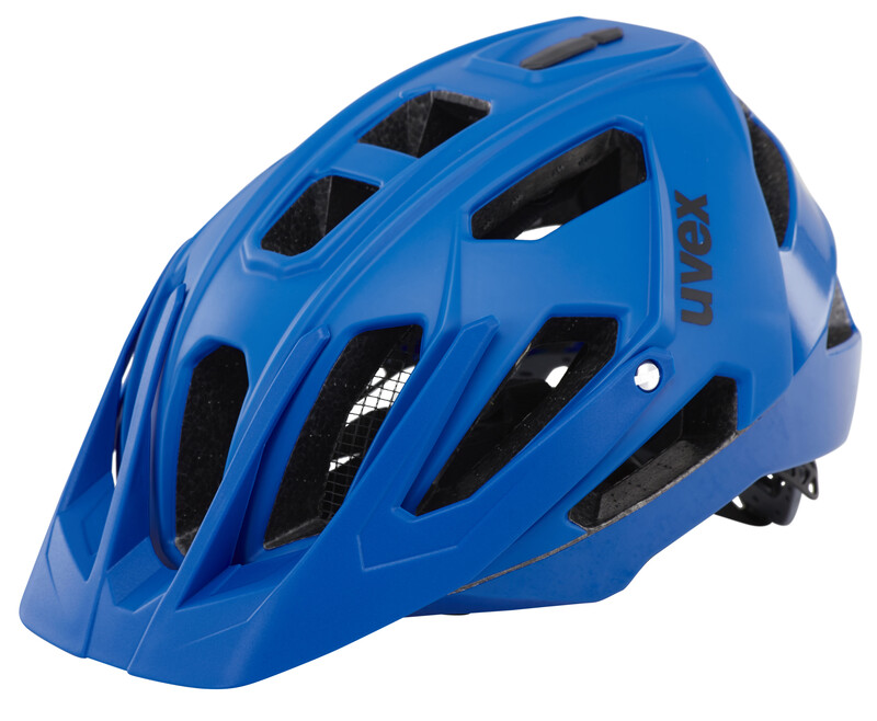quatro Helm blue mat/shiny 56-60 cm Mountainbike Helme