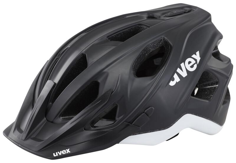 stivo cc Helm black-white mat 56-61 cm Mountainbike Helme
