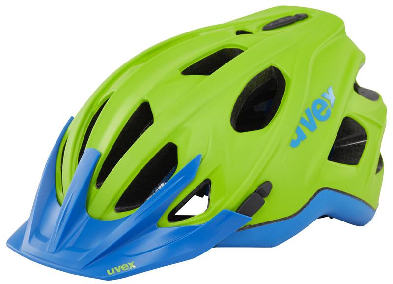 stivo cc Helm green-cyan mat 52-57 cm Mountainbike Helme