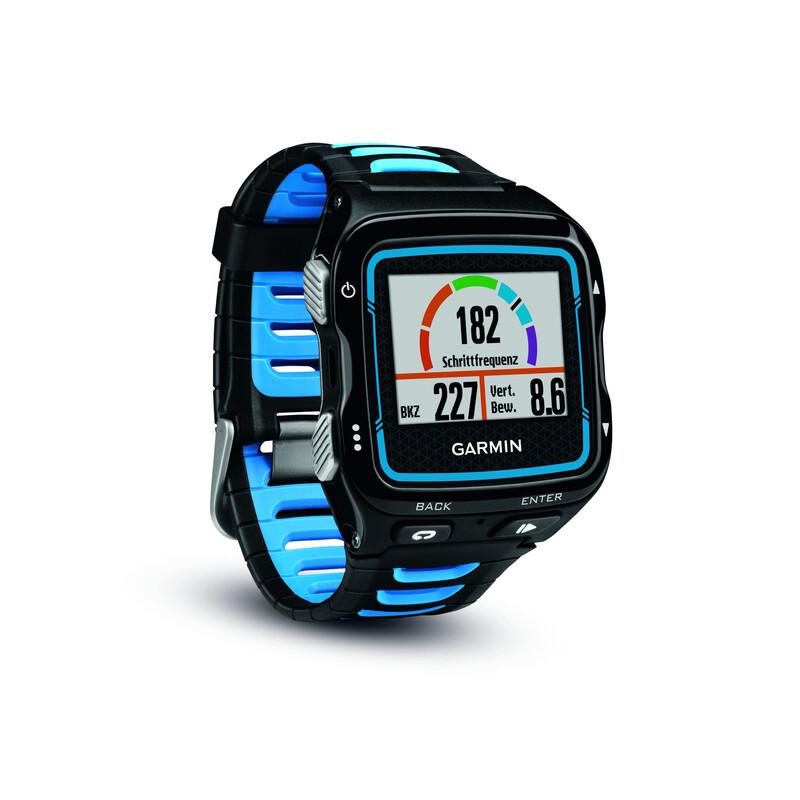 Forerunner 920XT HR inkl. HRM-Run black/blue Pulsuhren
