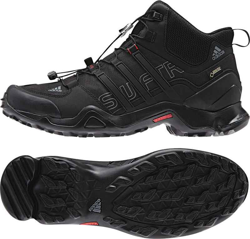 Terrex Swift R Mid GTX Shoes Men core black/vista grey s1 42 2/3 Trekkingschuhe