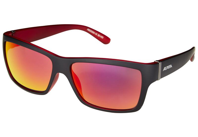 Kacey black matt-red/red mirror Sonnenbrillen