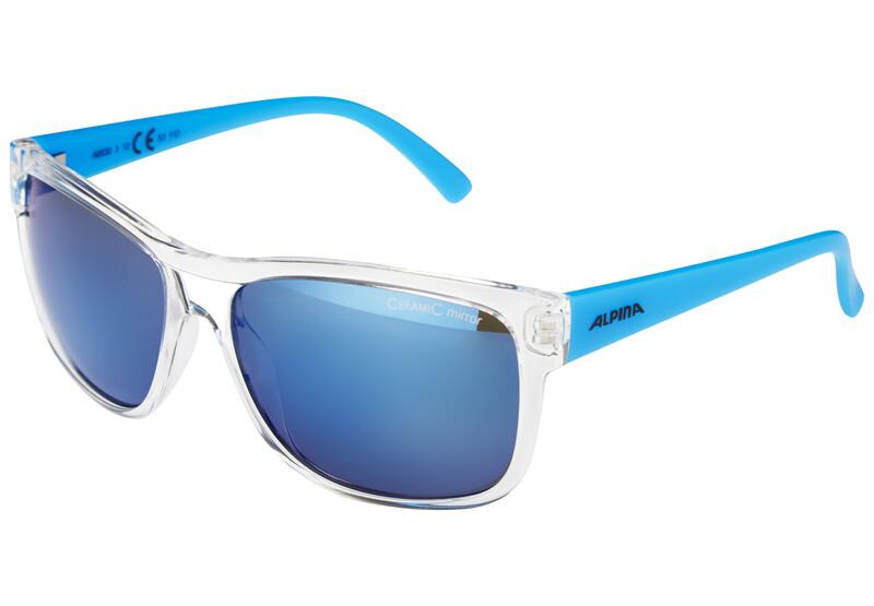 Heiny transparent-blue/blue mirror Sonnenbrillen
