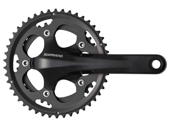 FC-CX50 Kurbelgarnitur Cyclocross 2x10-fach schwarz Kurbelgarnituren