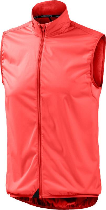 adidas Infinity Wind Gilet Men bright red Weste 2015