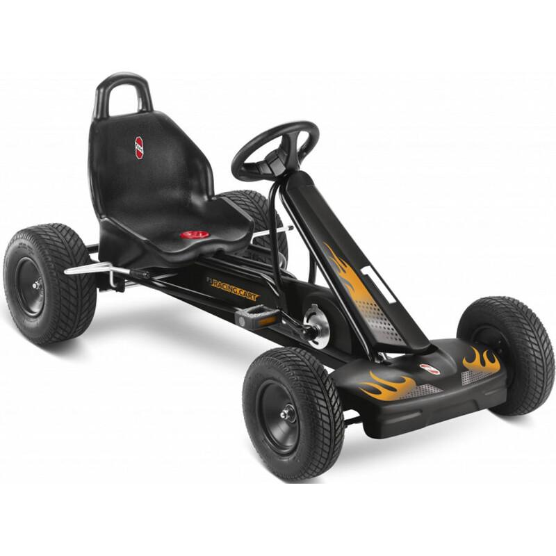 F 1 L GoKart schwarz Kinderfahrräder