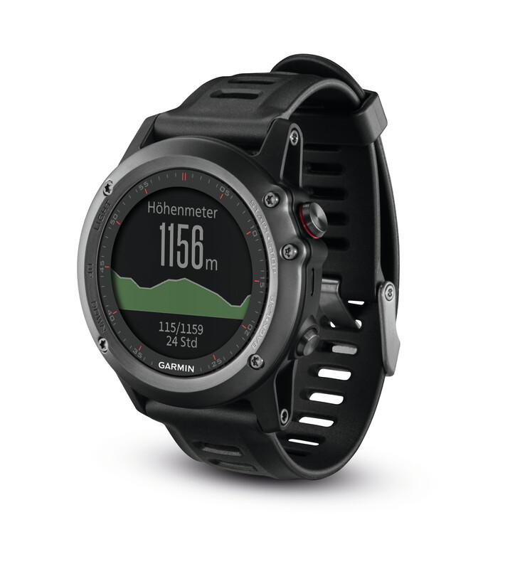 Fenix 3 GPS Multisportuhr Performer Bundle grau Pulsuhren