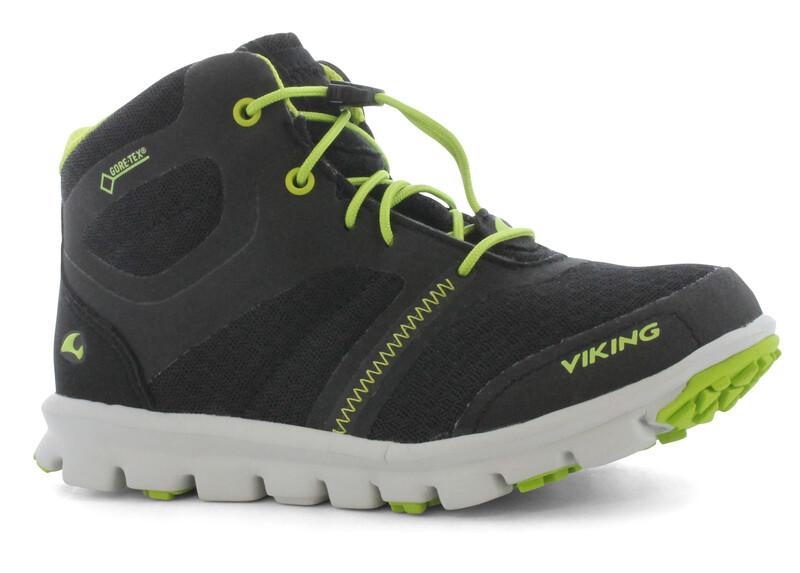 Viking Maverick Mid GTX Kids black/green Multifunktionsschuhe 2015