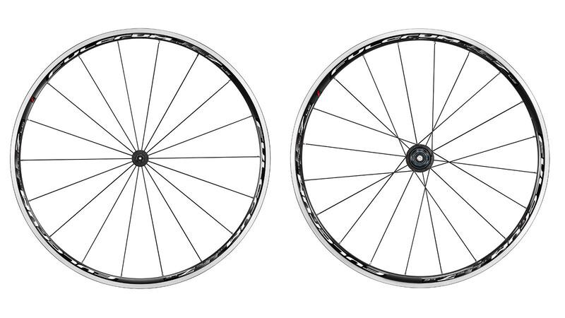 Racing 7 LG CX LRS Shimano schwarz/weiß Rennrad Laufradsätze