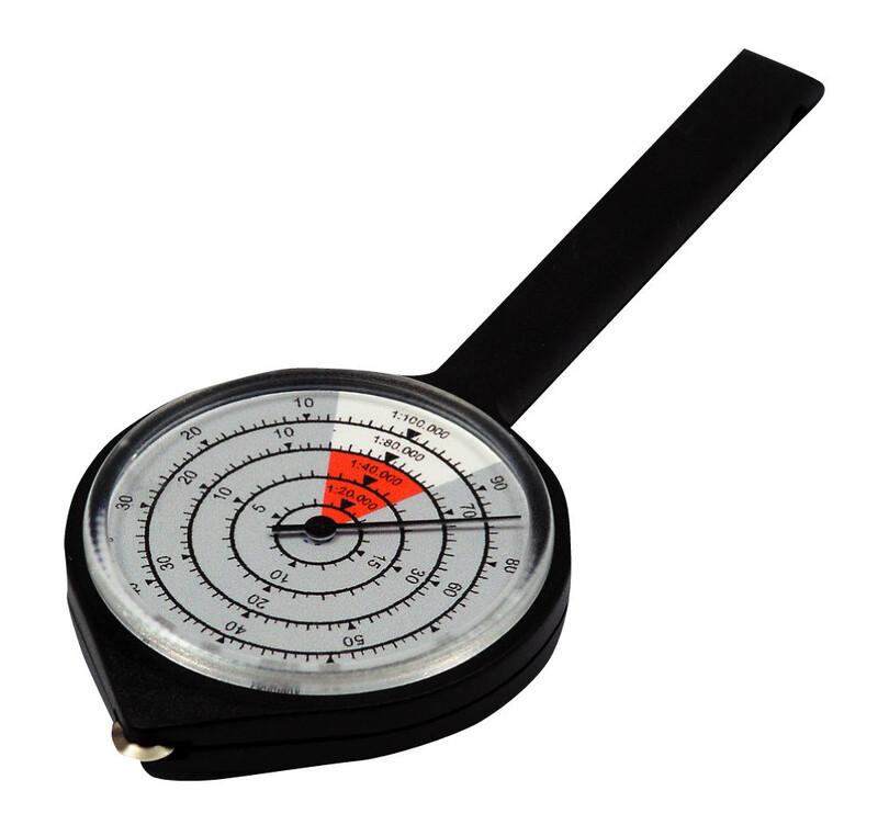 Kartenmesser Rally schwarz Zubehör Optik, Navigation & Uhren