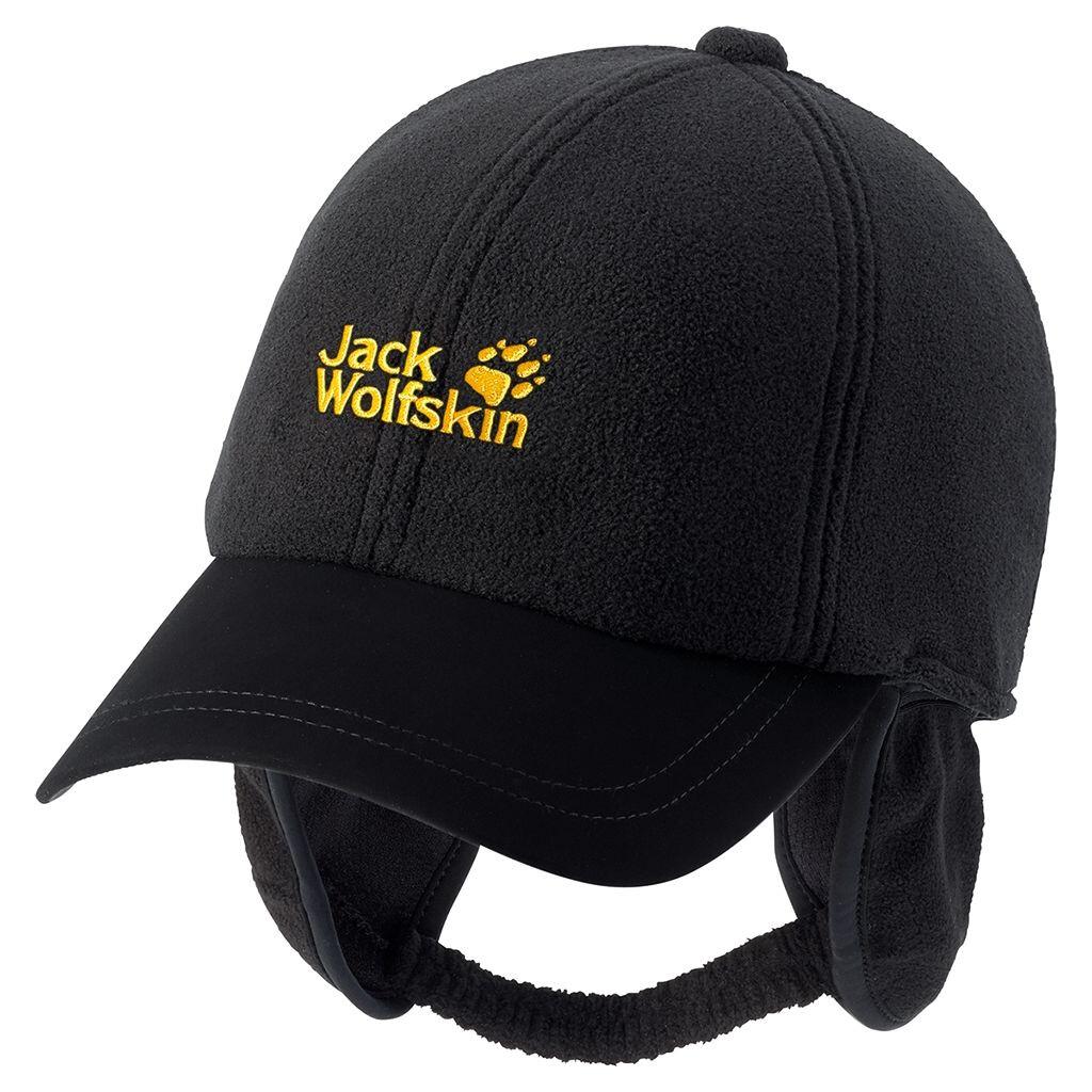 Jack Wolfskin Headwind Cap black L unisex schwarz 2015