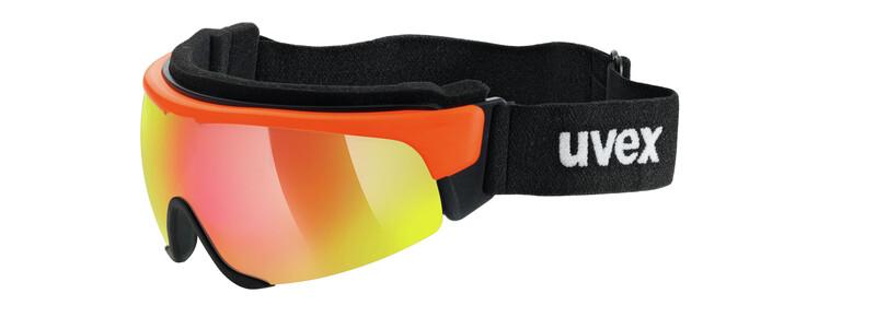 Cross Shield II Pro S orange/mirror red Sonnenbrillen