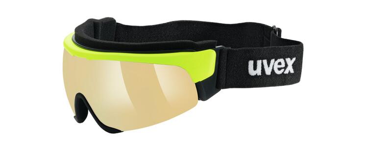 Cross Shield II Pro S yellow/mirror yellow Sonnenbrillen