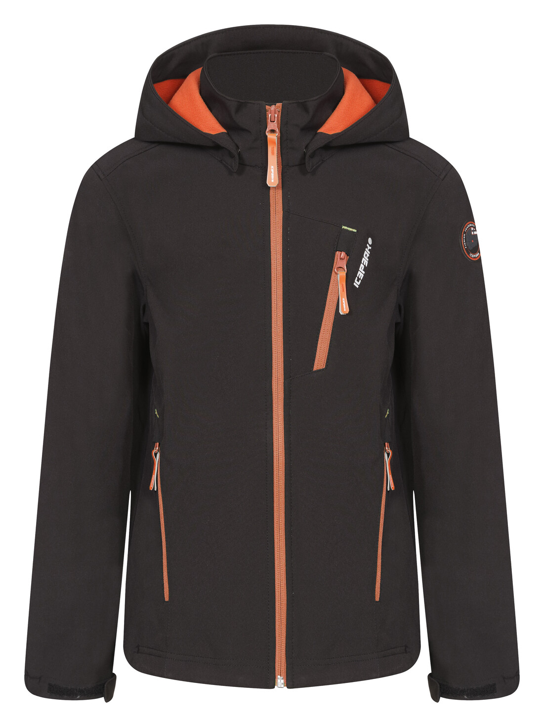 Icepeak Tuukka Softshell Jacket Boys black 176 kinder schwarz 2015