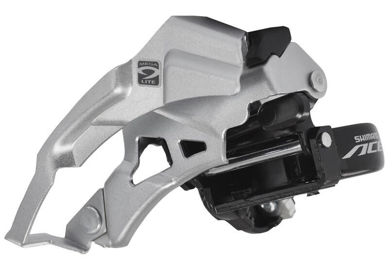 Acera FD-M3000 Umwerfer 3x9-fach silber/schwarz MTB Umwerfer