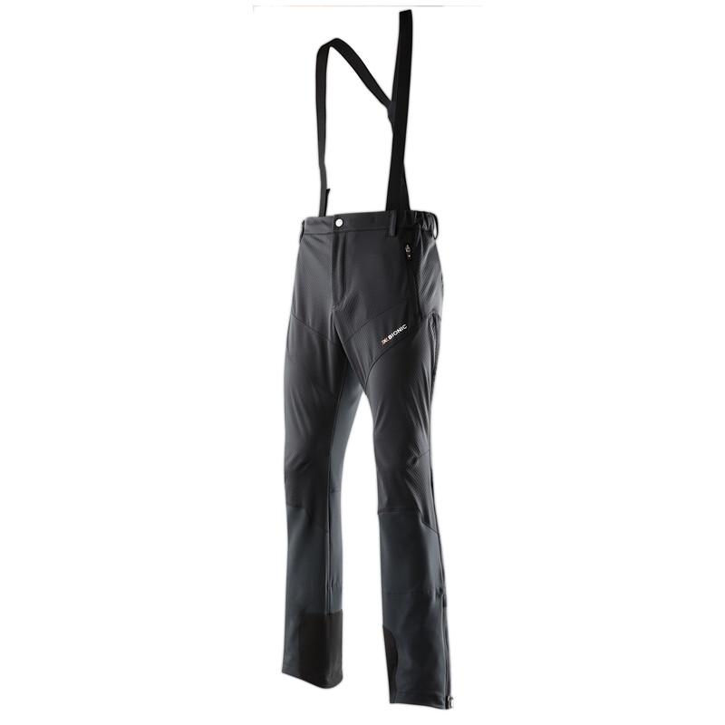 Ski Touring Light Pants Long Men black S Softshellhosen