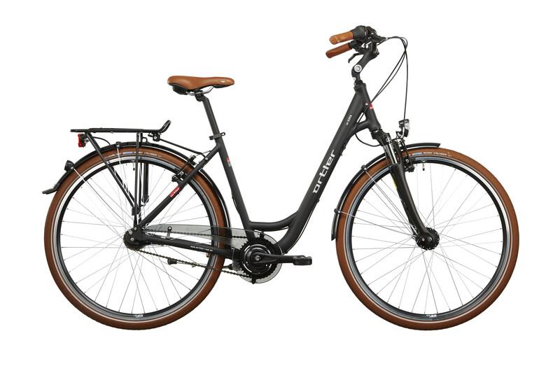deGoya Damen schwarz matt Citybikes