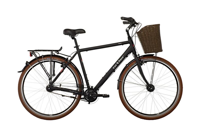 Monet Herren schwarz matt Citybikes